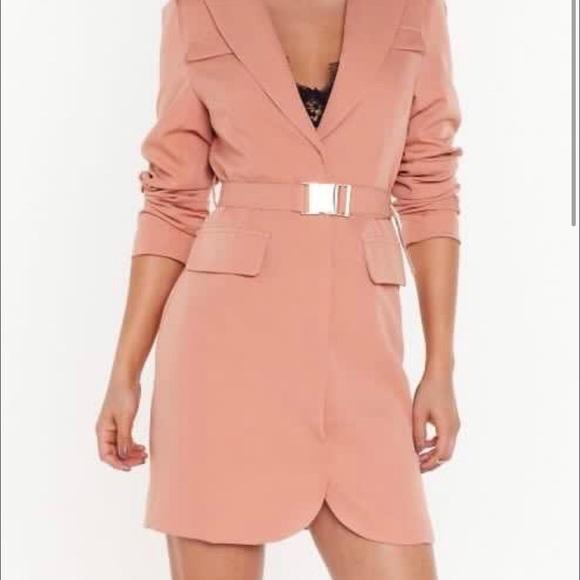 Nasty Gal Dresses & Skirts - NASTY GAL BLAZER DRESS